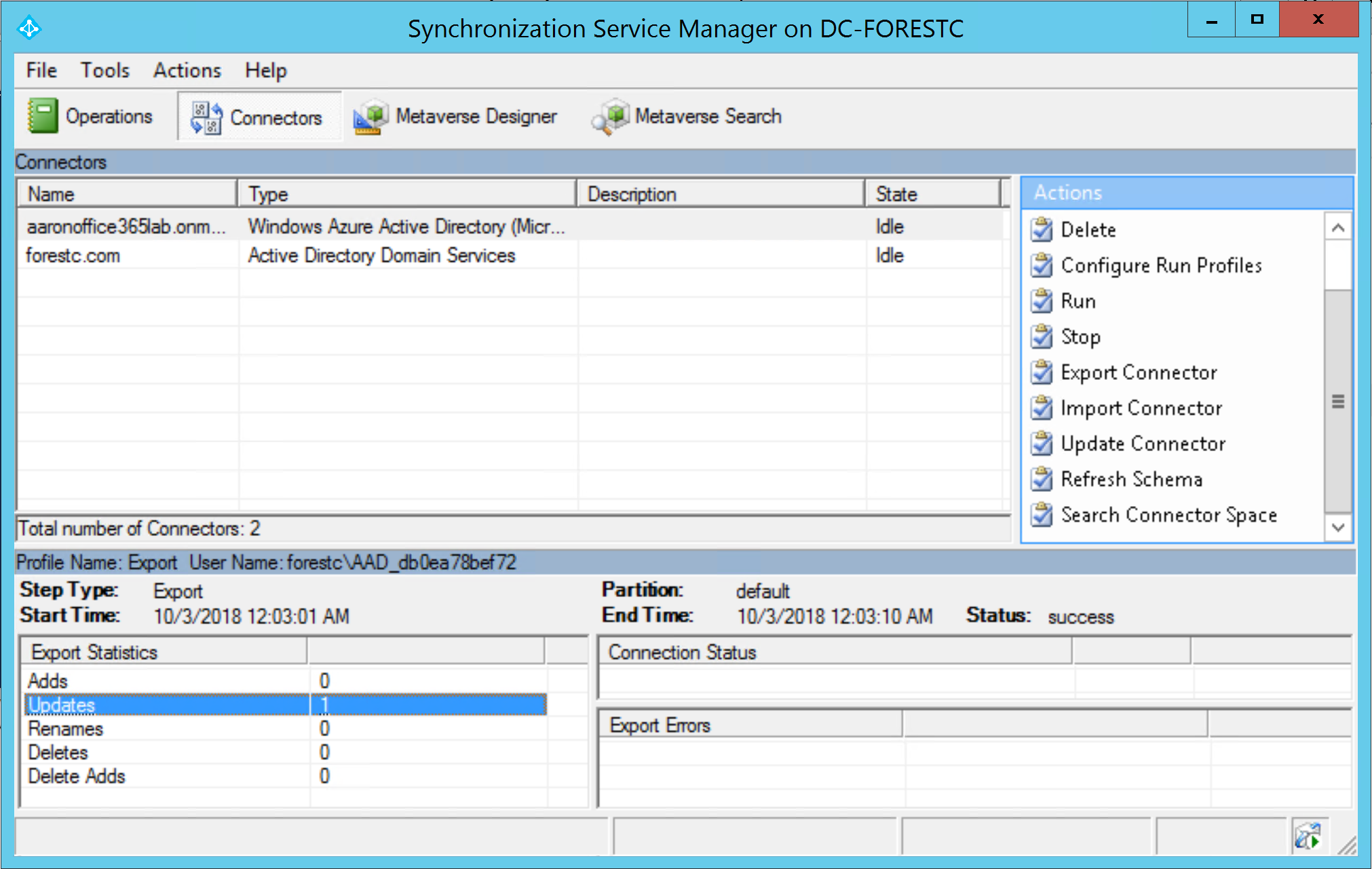 Sync Custom Attributes to Office 365 for Group-Based