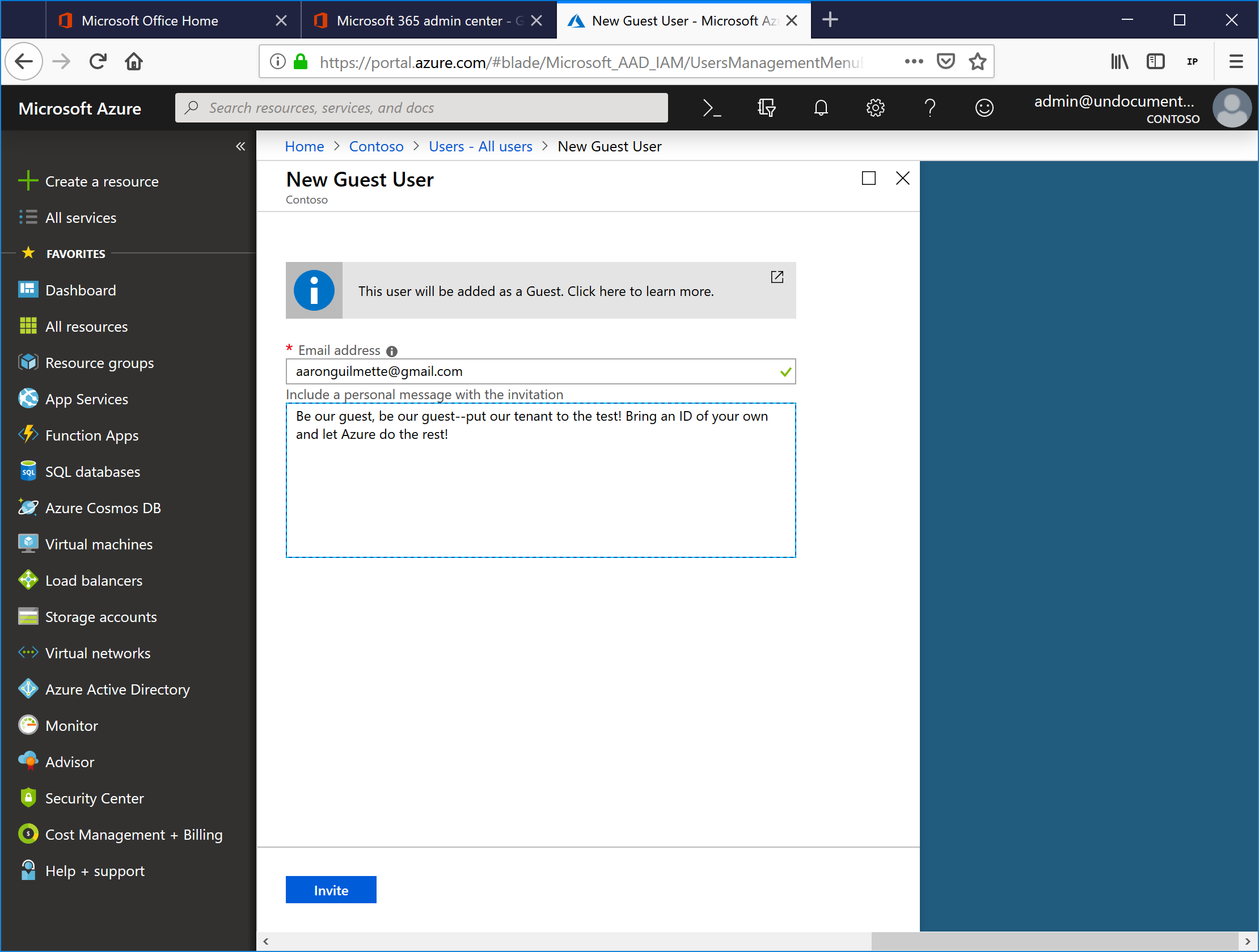 SharePoint Online and OneDrive for Business Custom Sharing