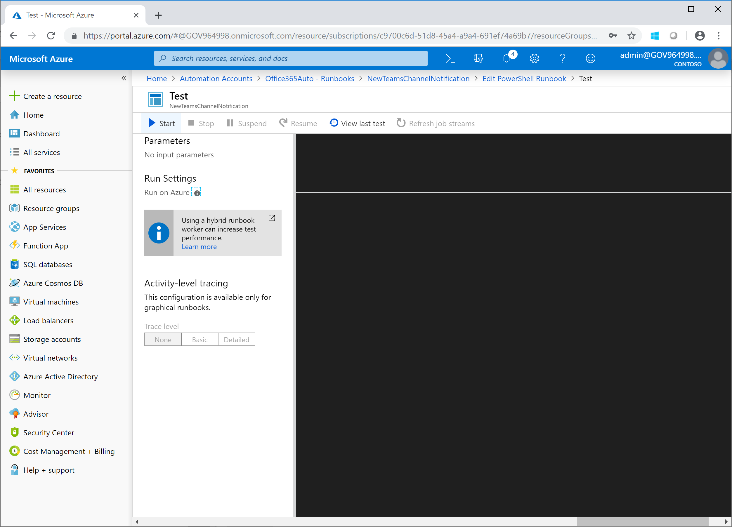 """Creating a Teams """"New Channel"""" notification – Undocumented Features"""